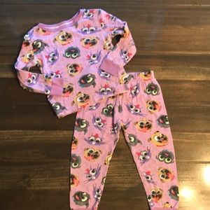 Disney Toddler Puppy Dog Pals 2 Piece Pajamas